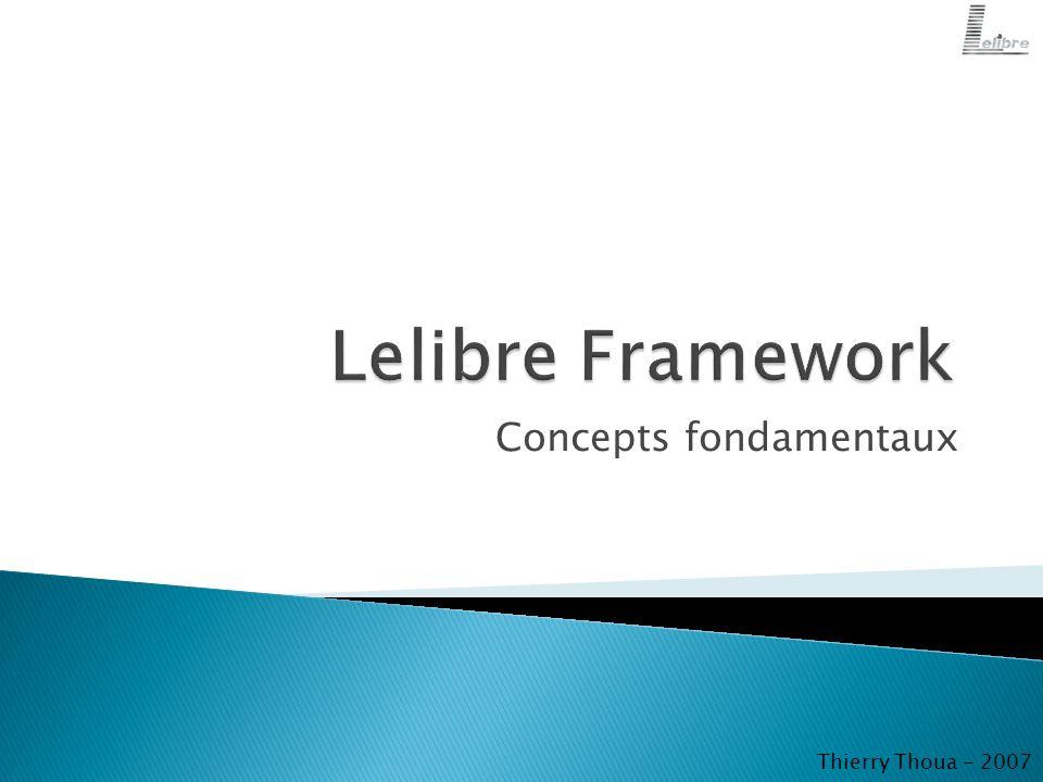 Concepts fondamentaux Thierry Thoua - 2007