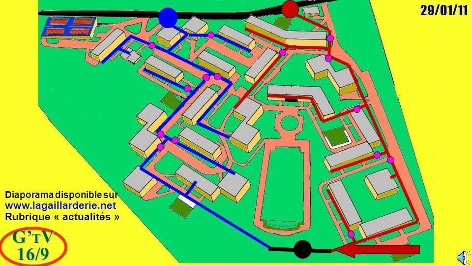 29/01/11 G' T V 16/9 Diaporama disponible sur www.lagaillarderie.net Rubrique « actualités »