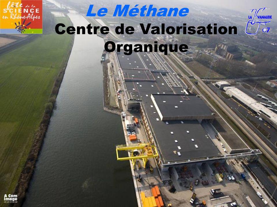 Le Méthane Centre de Valorisation Organique