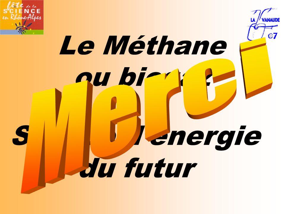 Le Méthane Source d'énergie du futur ou biogaz