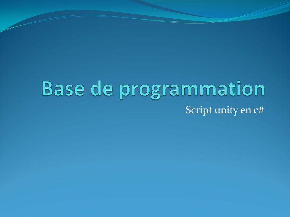 Script unity en c#