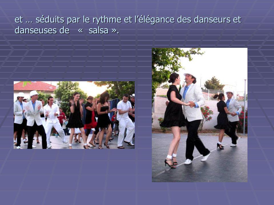 Mais aussi danse contemporaine pour adultes et adolescents. Nous avons en particulier été amusés par le «ballet des éclopées» …