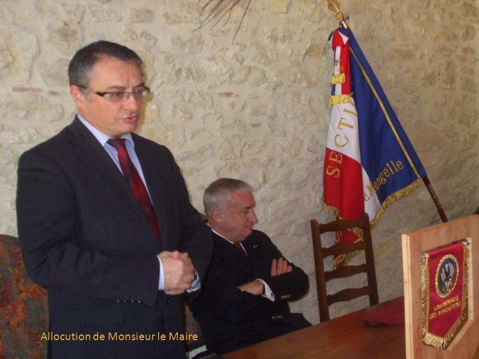 AG. 2014, c'est parti ! de gauche à droite : Richard Blanc, secrétaire Gérard Wenner, président Général Cambournac, Gilbert Truilhé, trésorier
