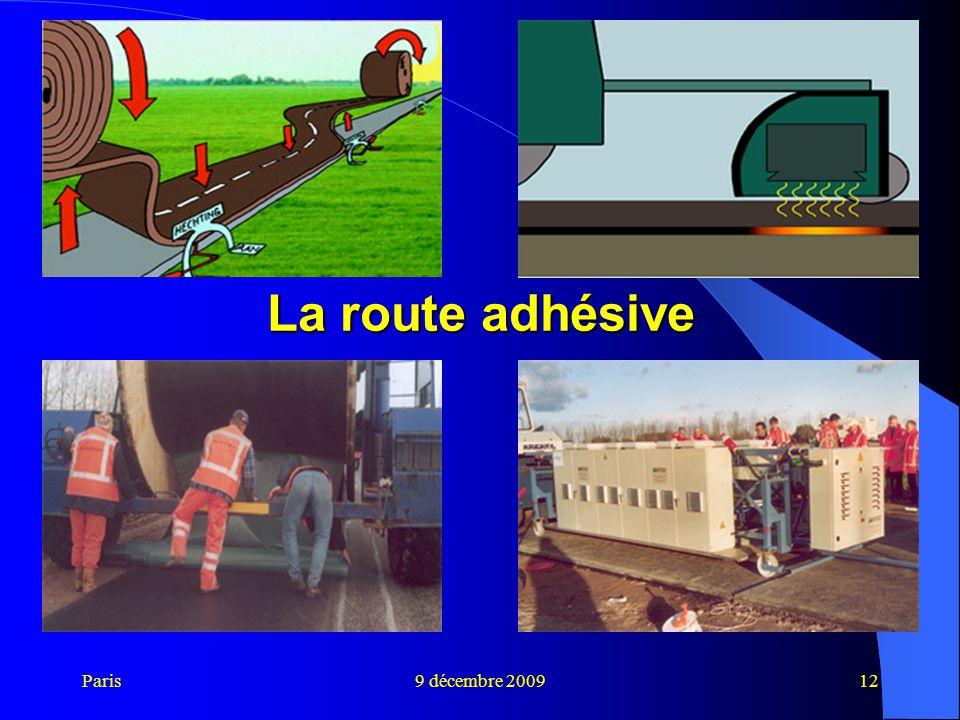 Paris9 décembre 200912 La route adhésive