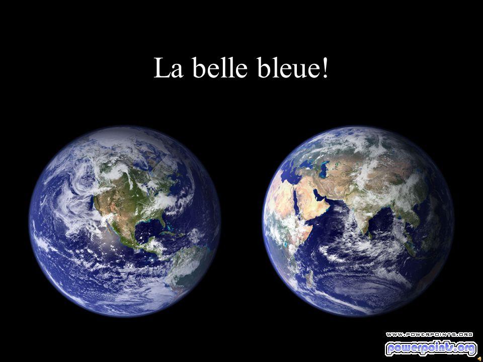 La belle bleue!