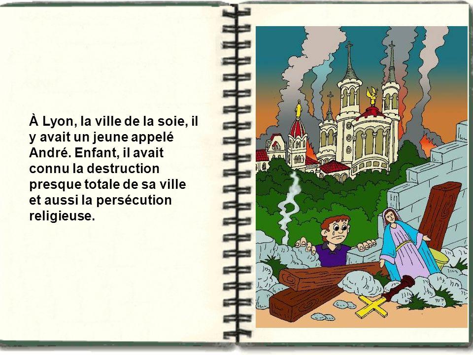 À Lyon, la ville de la soie, il y avait un jeune appelé André.