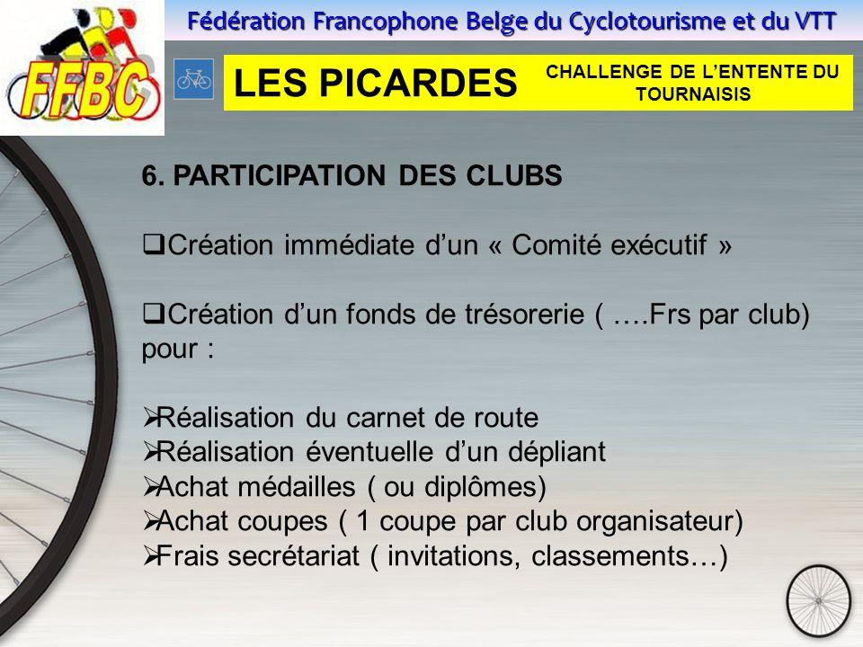 Fédération Francophone Belge du Cyclotourisme et du VTT 6.
