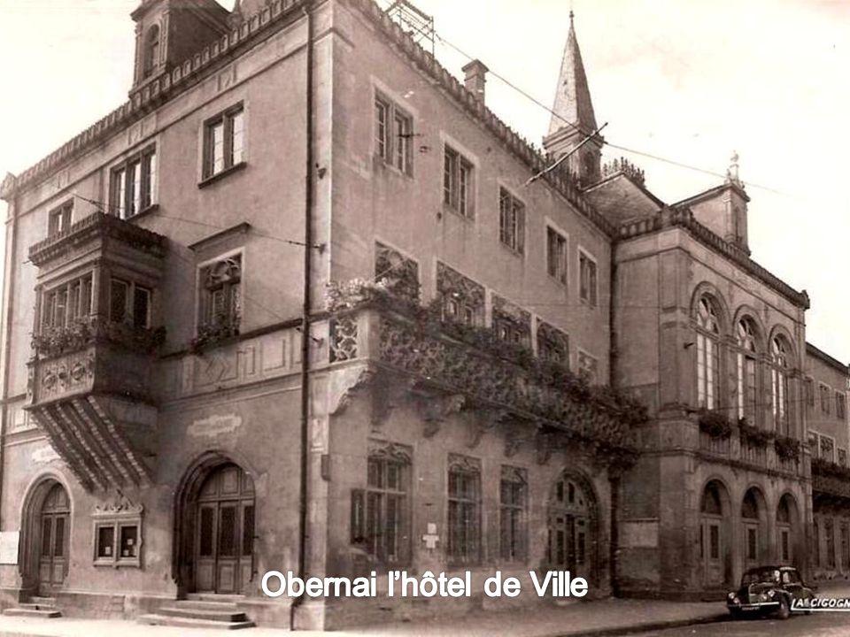 Obernai: Place du Marché
