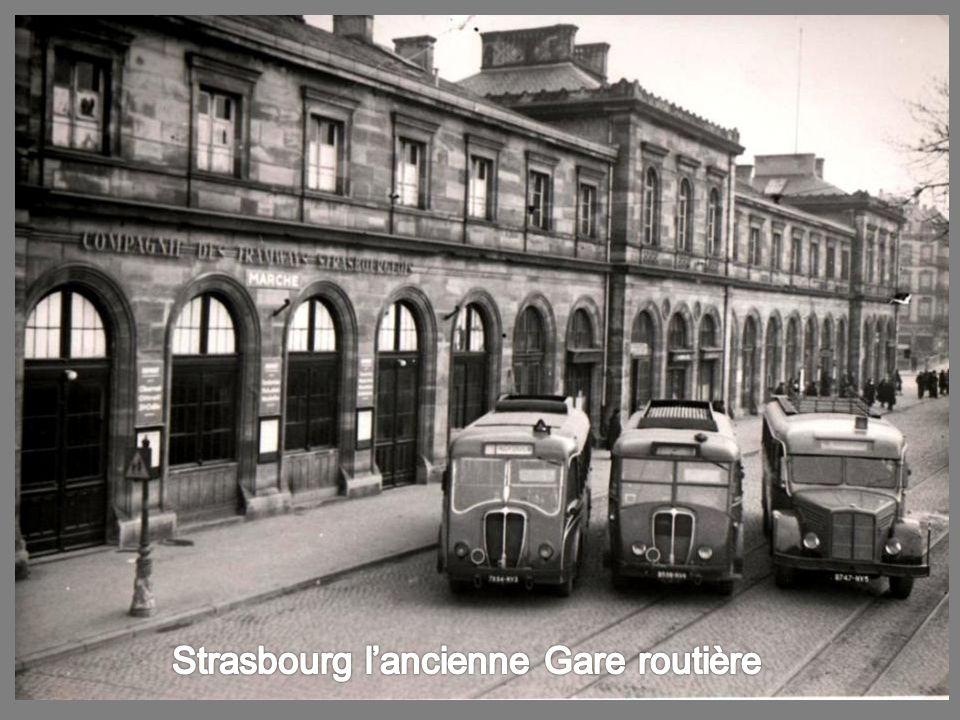 Strasbourg: Place de la Gare (1960)