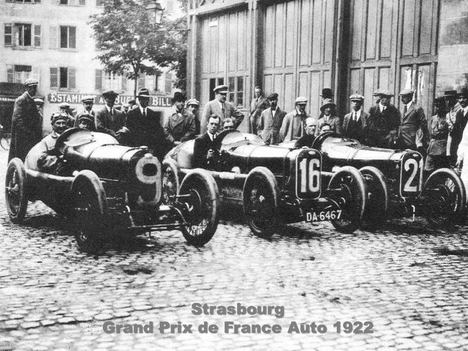 Strasbourg Grand Prix de France Auto - 1922