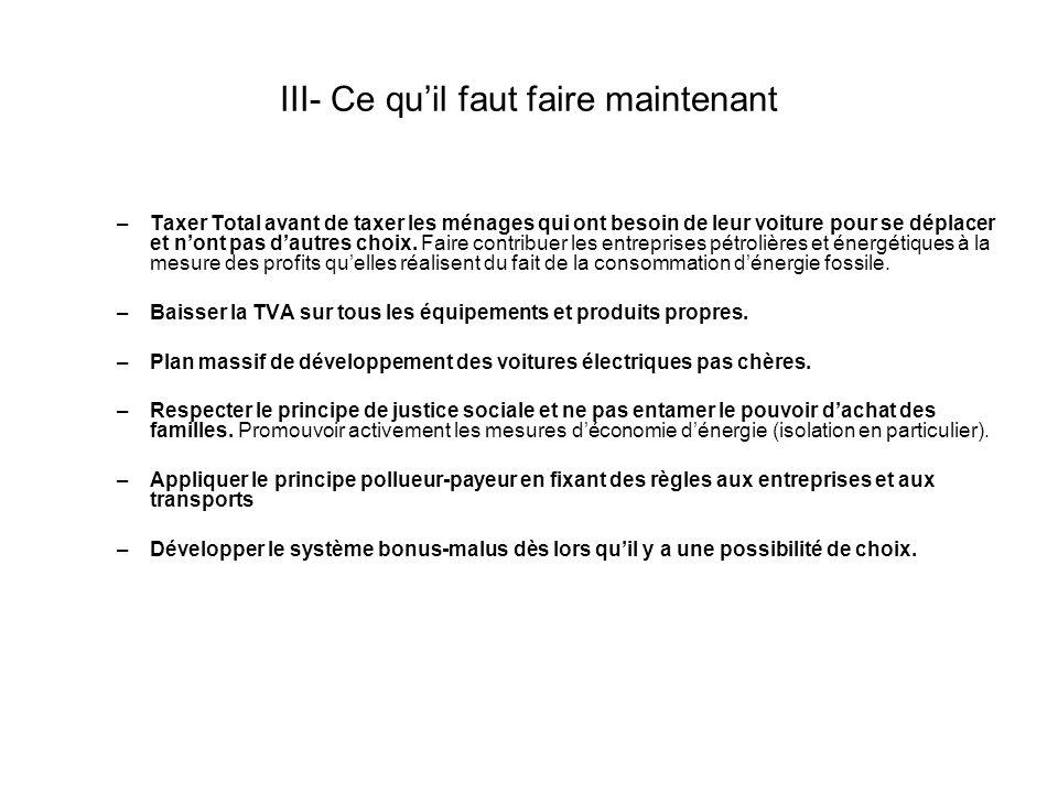 III-1 Rétablir la vérité : extrait de la lettre de Ségolène Royal à Nicolas Hulot, 5 janvier 2007.