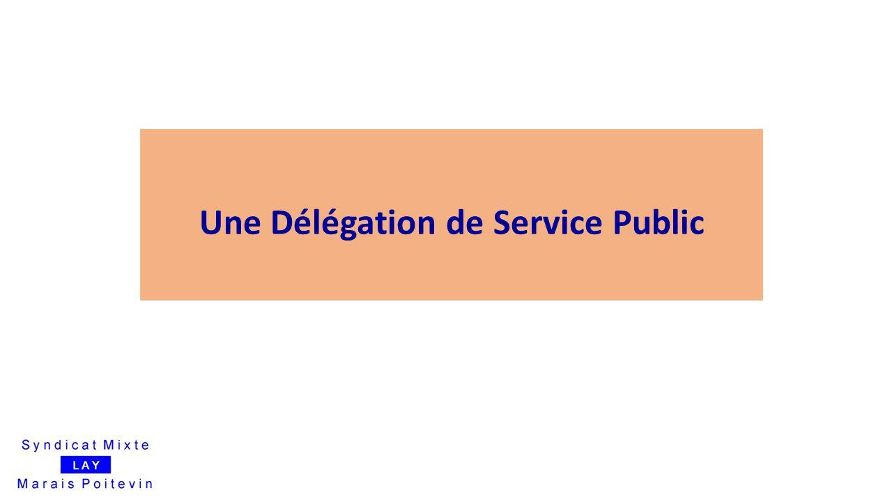 Une Délégation de Service Public