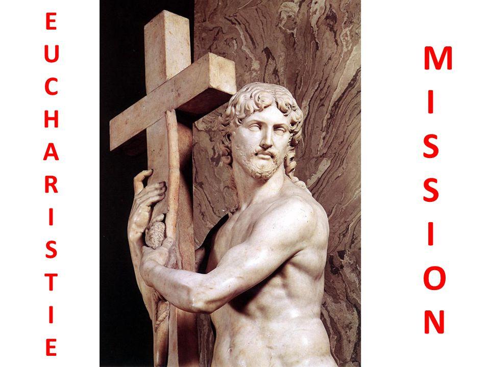 La doxologie Par Lui, avec Lui, et en Lui, à toi, Dieu le Père tout- puissant, dans l unité du Saint- Esprit, tout honneur et toute gloire, pour les siècles et les siècles .