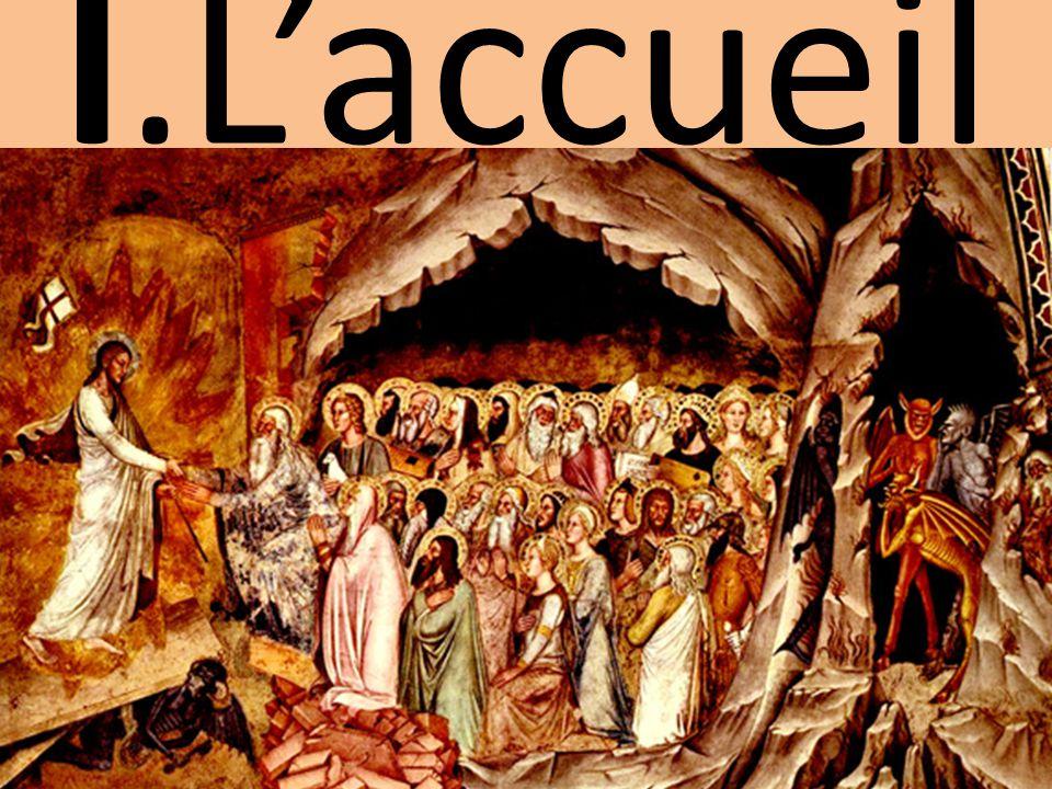 L'anamnèse A: Nous proclamons ta mort, Seigneur Jésus, nous célébrons ta résurrection, nous attendons ta venue dans la gloire.