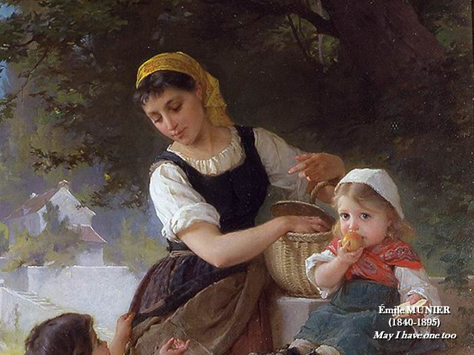 16 Émile MUNIER (1840-1895) May I have one too