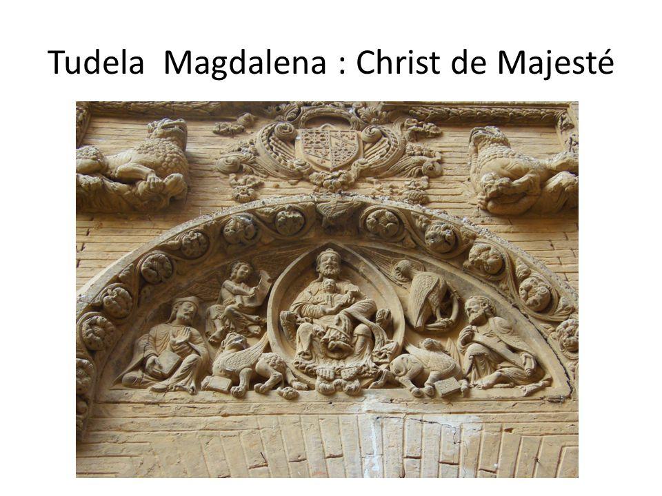 Tudela Magdalena : Christ de Majesté