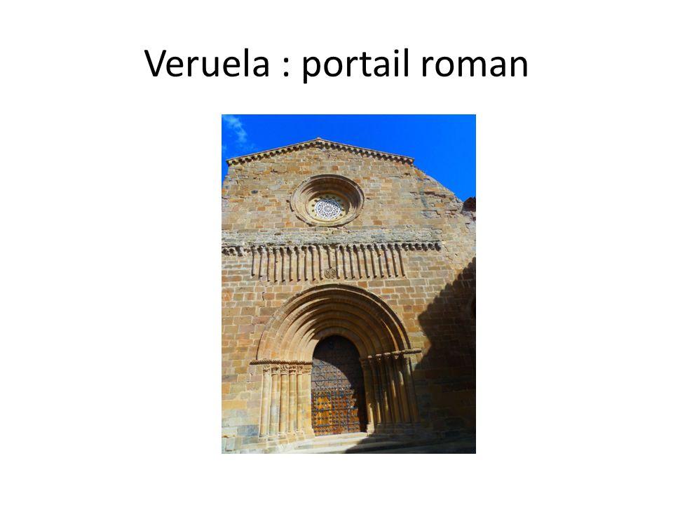 Veruela : portail roman