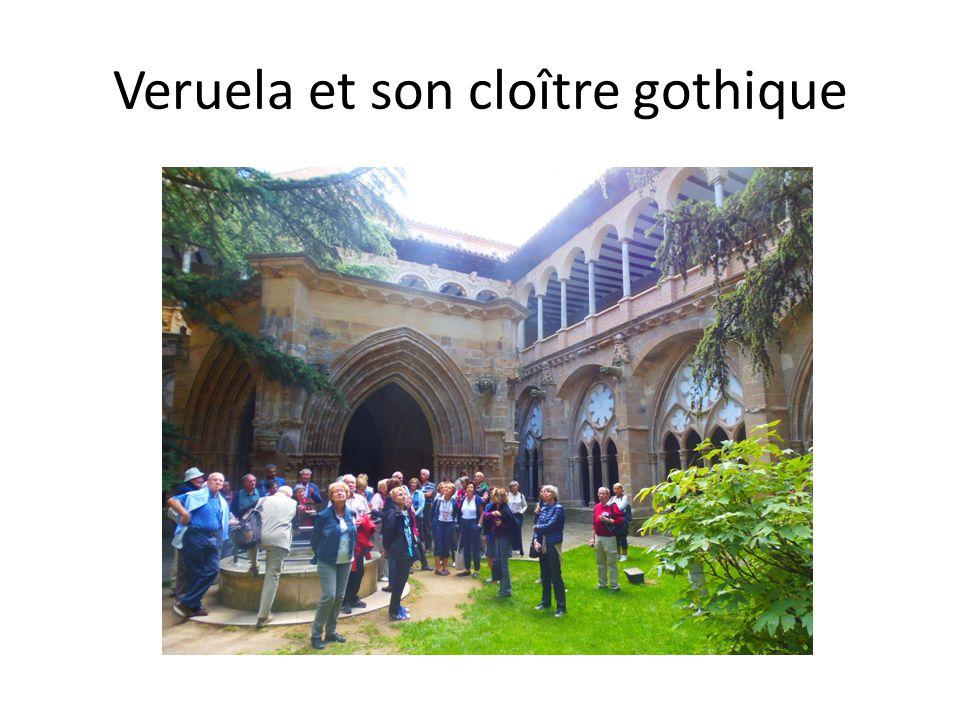 Veruela et son cloître gothique