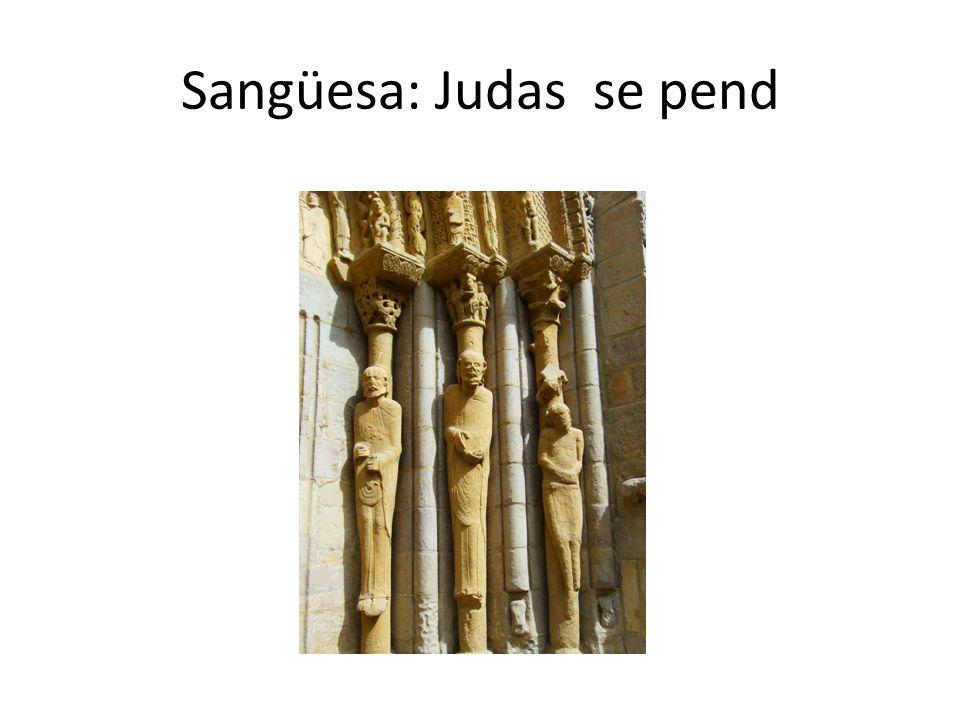 Sangüesa: Judas se pend