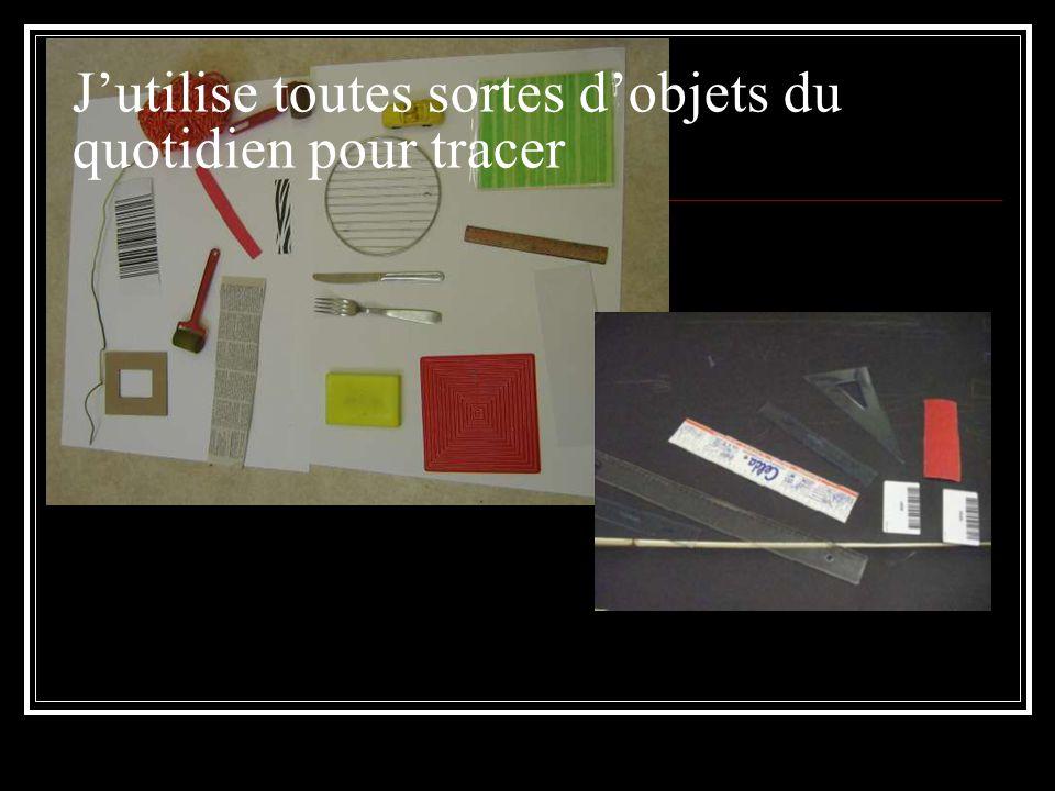 Expérimenter : Vertical et horizontal : le trait induit par un code barre, un carton ondulé