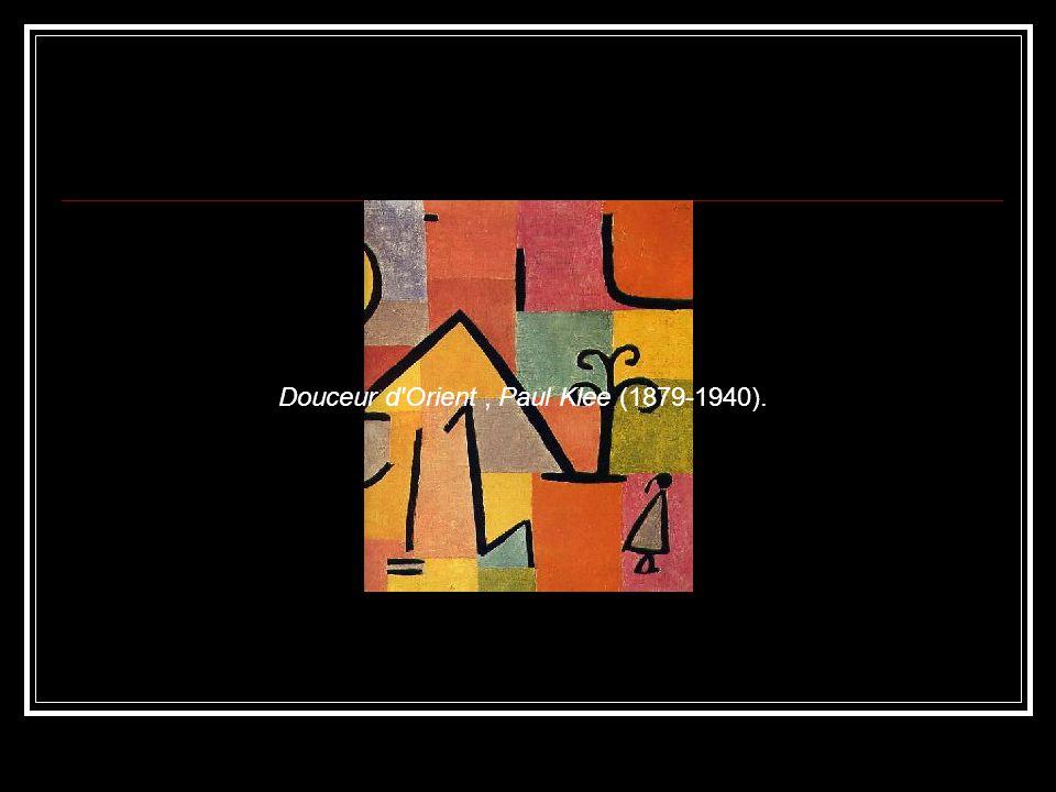 Douceur d Orient, Paul Klee (1879-1940).