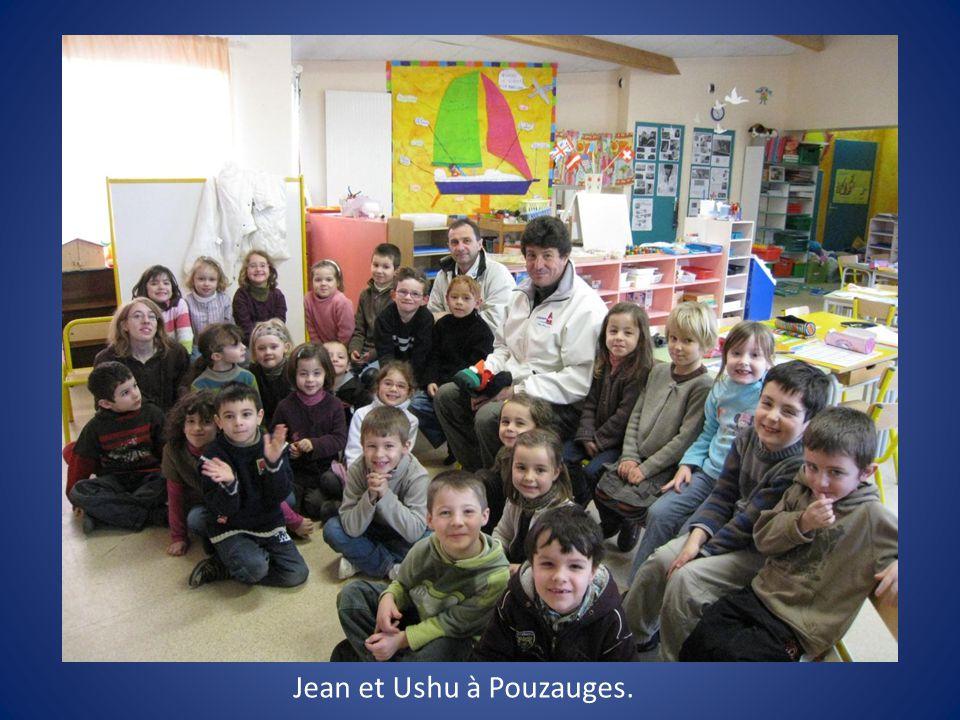 Jean et Ushu à Pouzauges.