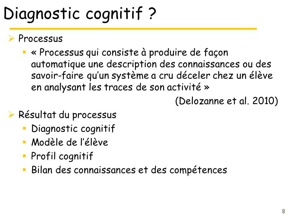 Diagnostic cognitif .