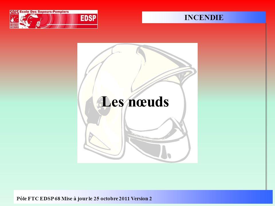 EDIS68\FIA SPV 2002 INCENDIE Pôle FTC EDSP 68 Mise à jour le 25 octobre 2011 Version 2 Les nœuds