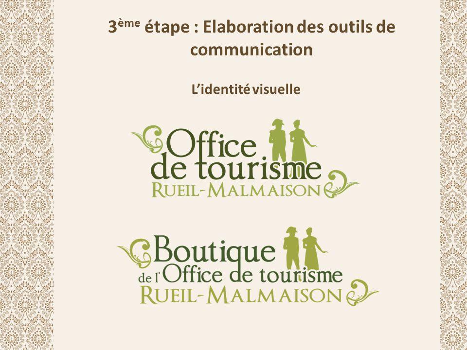 La communication écrite Un slogan : « Rueil-Malmaison, ville d'aujourd'hui, parfum d'Empire »