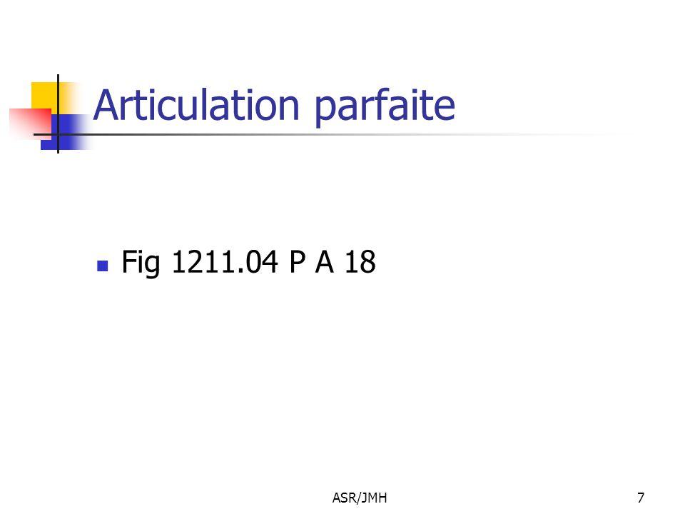 ASR/JMH7 Articulation parfaite Fig 1211.04 P A 18