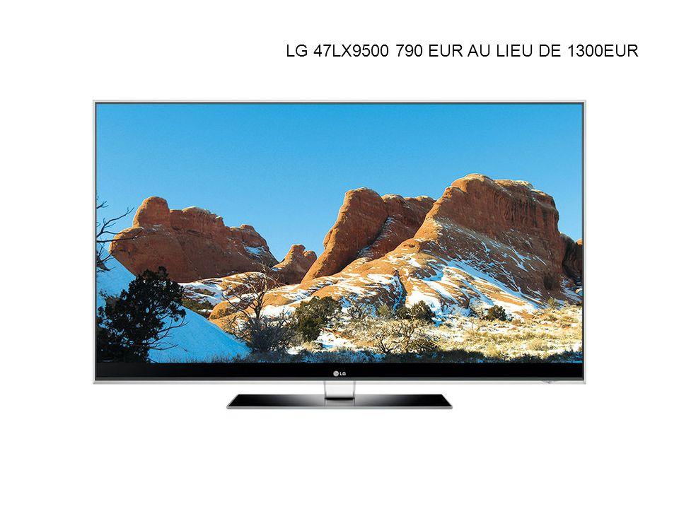 Caractéristiques Audio / Vidéo et Tuner du téléviseur LCD LG 47LX9500 Format / Norme : Compatibilités 3D : Cette TV est compatible 3D (3D Ready) TV 3D : consultez le dossier Technologie employée : 3D active (active shutter ou par alternance), nécessite des lunettes LCD actives.