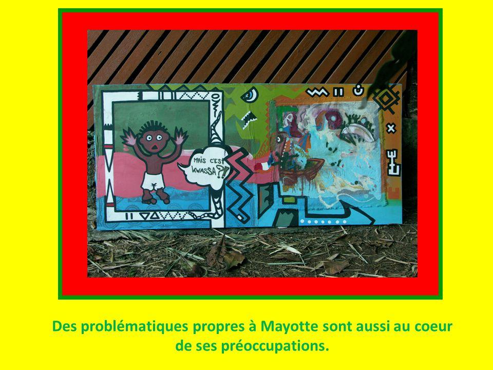 Des problématiques propres à Mayotte sont aussi au coeur de ses préoccupations.