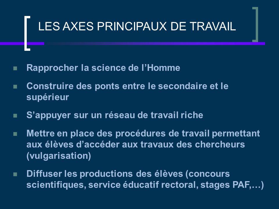 Rapport européen sur l'attractivité des filières Scientifiques (2004) ELEMENTS D'ANALYSE