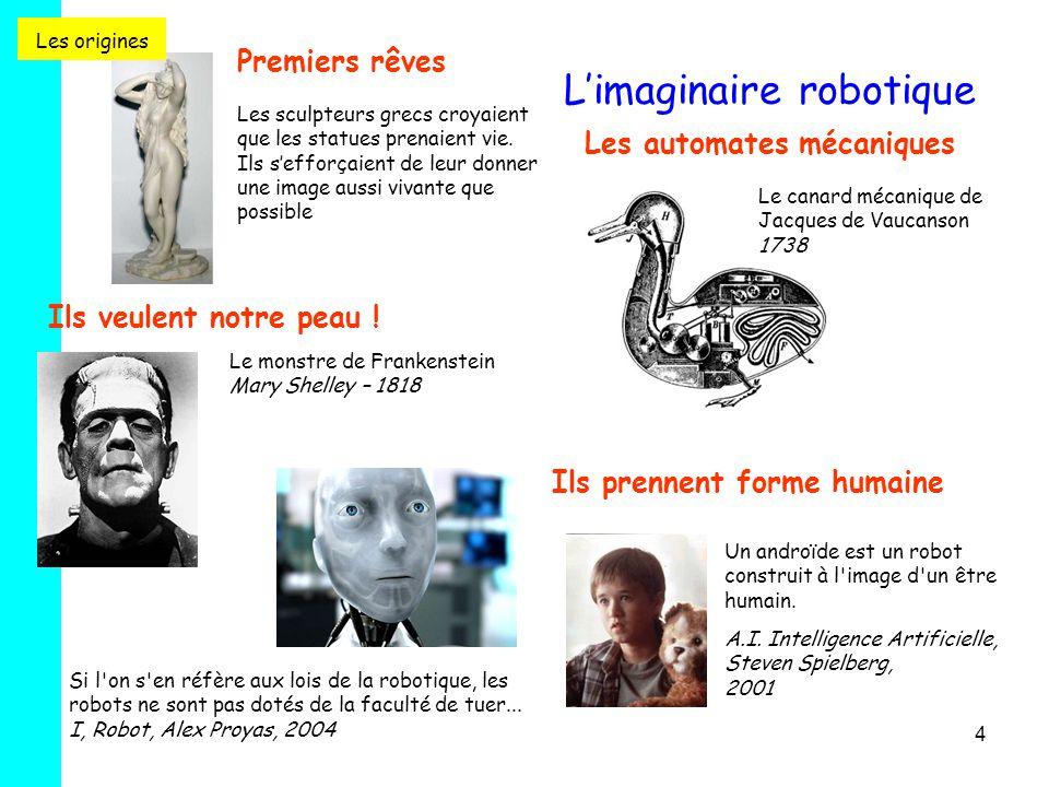 4 Premiers rêves Les sculpteurs grecs croyaient que les statues prenaient vie. Ils s'efforçaient de leur donner une image aussi vivante que possible L