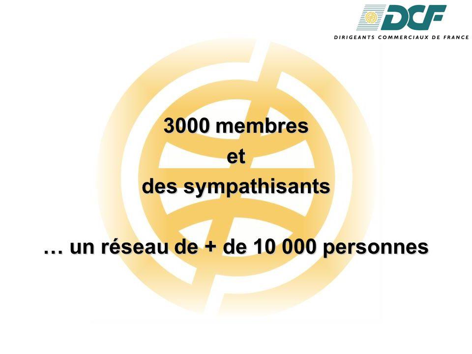 3000 membres et des sympathisants … un réseau de + de 10 000 personnes
