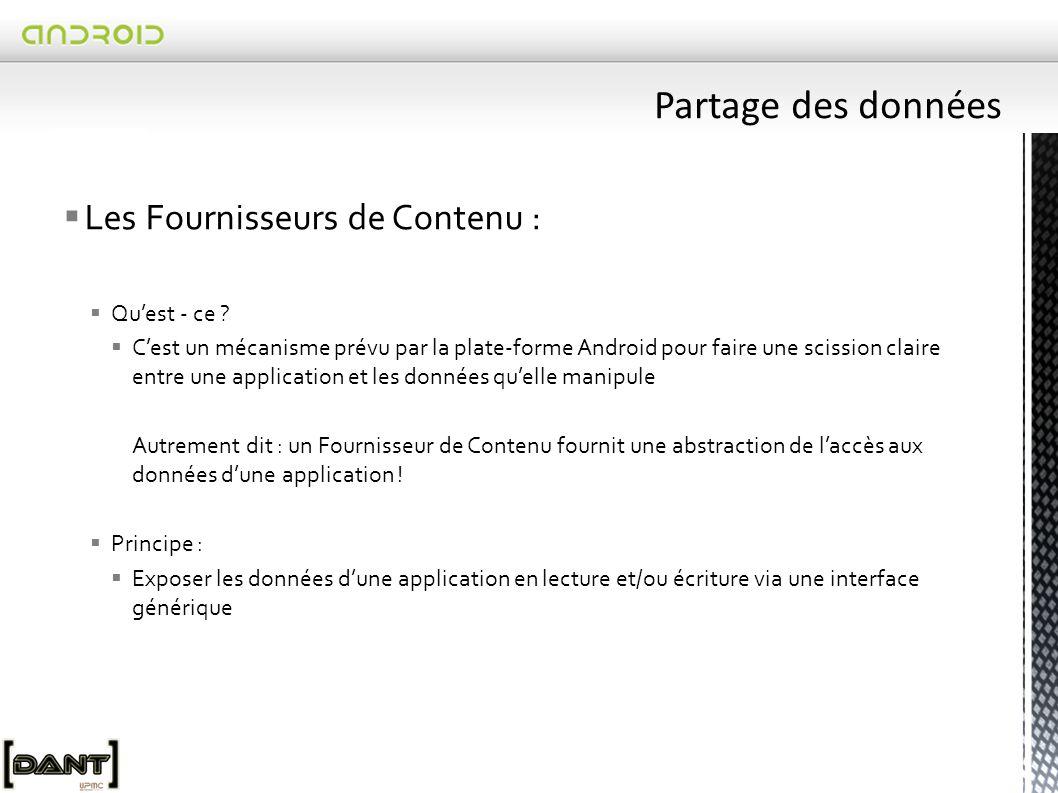  Les Fournisseurs de Contenu :  Qu'est - ce .