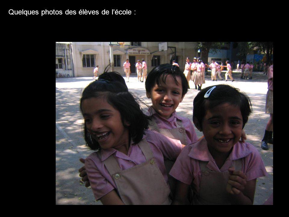 Quelques photos des élèves de l'école :