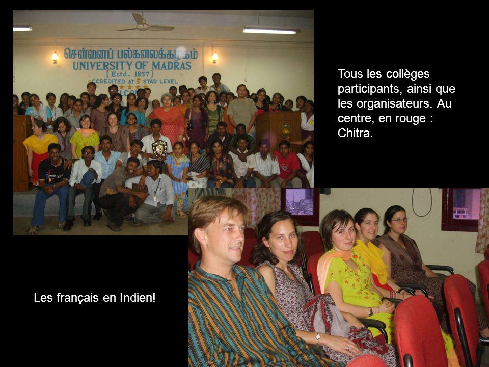 Tous les collèges participants, ainsi que les organisateurs.