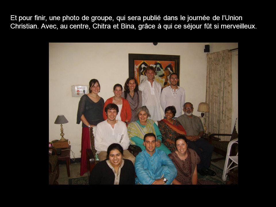 Et pour finir, une photo de groupe, qui sera publié dans le journée de l'Union Christian.