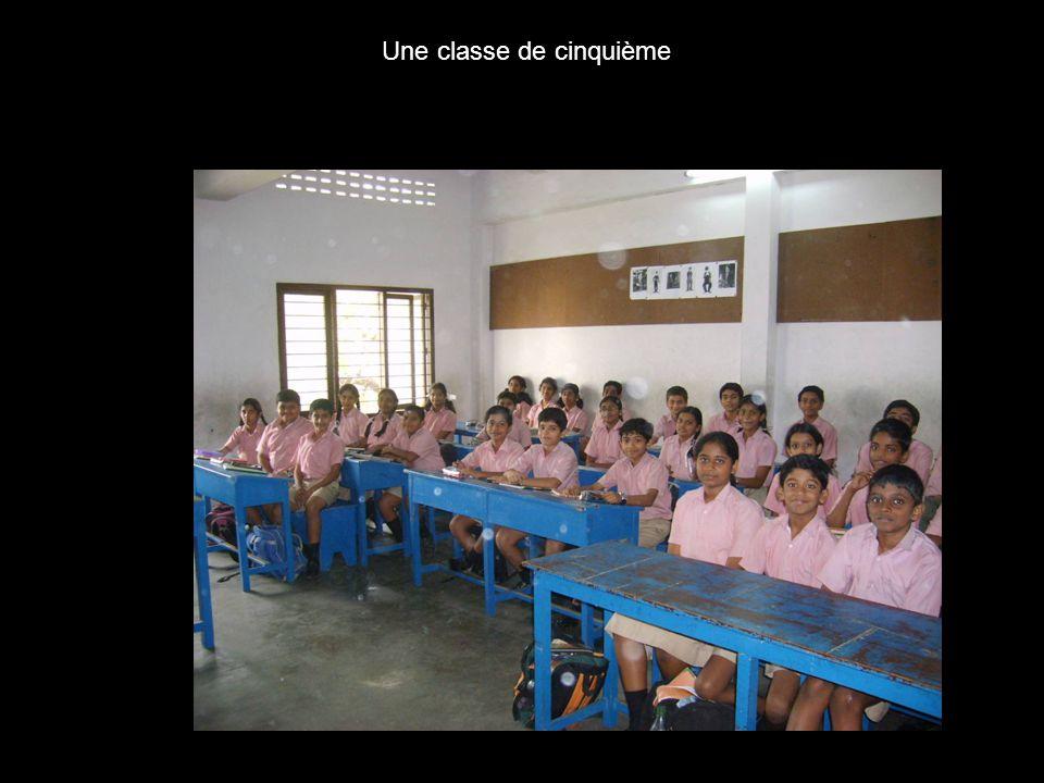 Une classe de cinquième