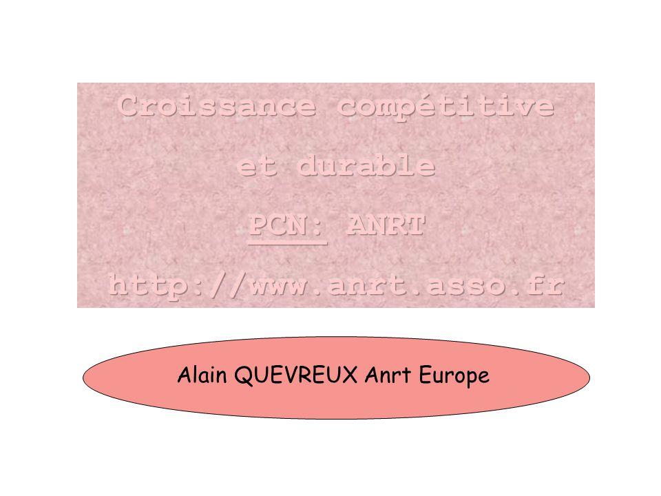 Alain QUEVREUX Anrt Europe
