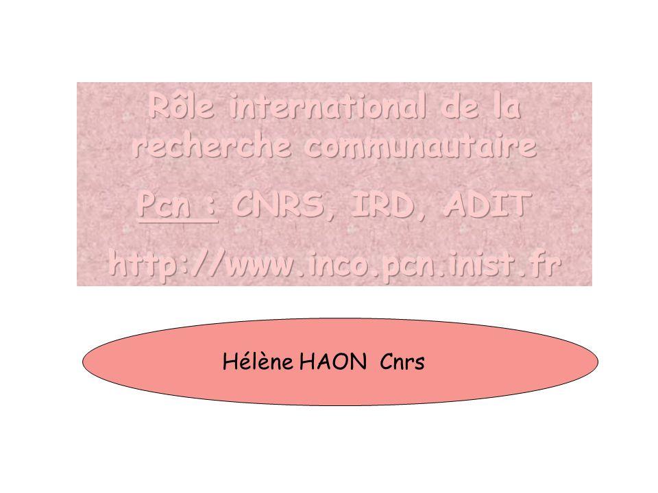 Hélène HAON Cnrs