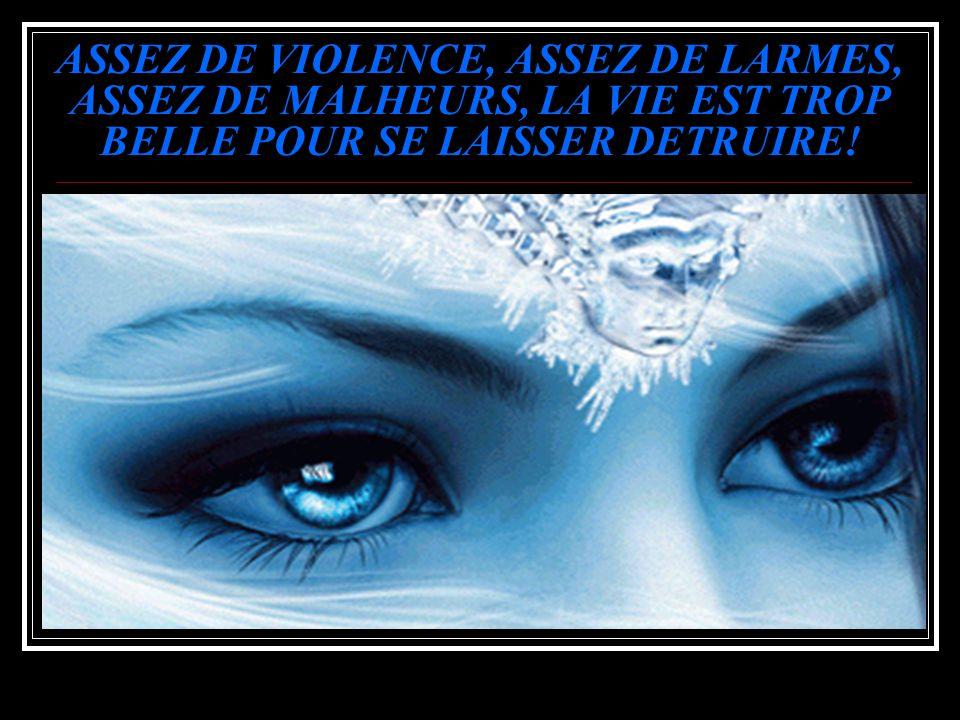 S.VP. DITES NON À LA VIOLENCE!!! QU'ELLE SOIS VERBALE, MENTALE, OU PHYSIQUE… DENONCEZ, N'ATTENDEZ PAS QUE LE PIRE SE PRODUISE!!!
