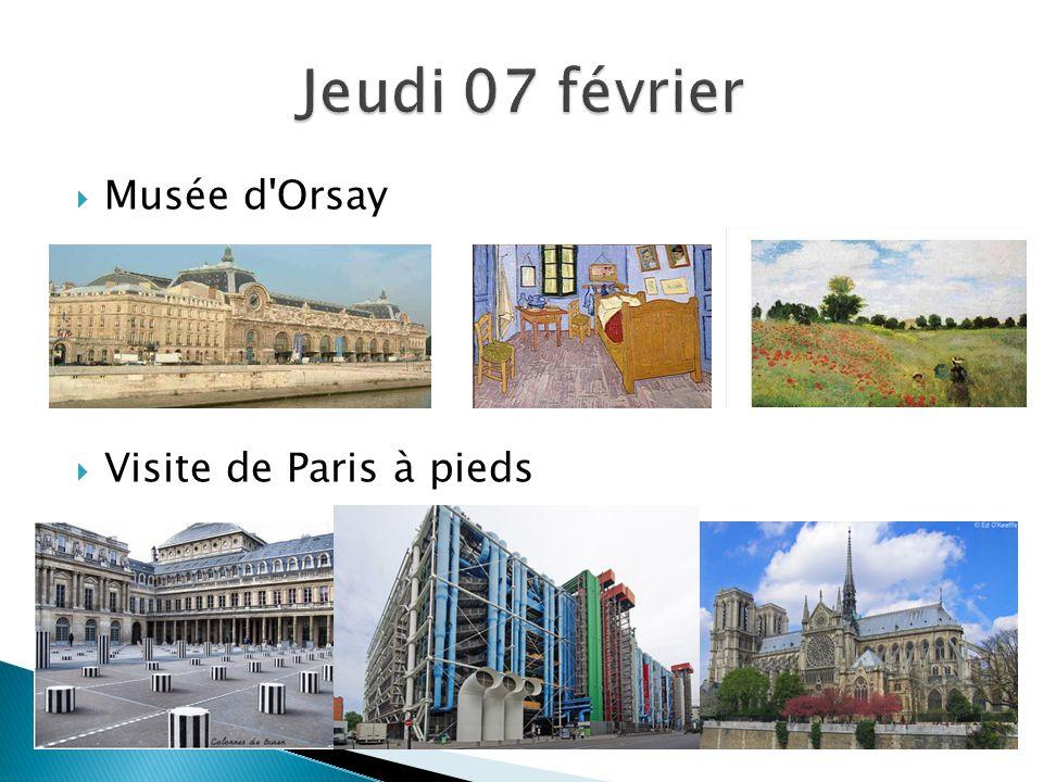  Musée d Orsay  Visite de Paris à pieds