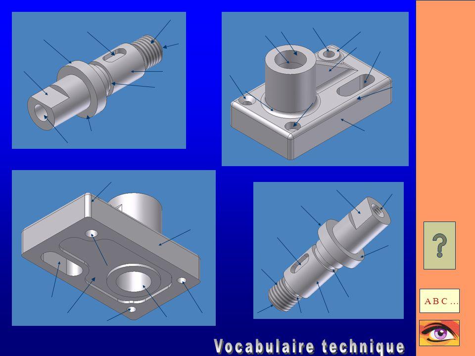 Gorge Usinage dans une pièce cylindrique souvent destiné à recevoir un anneau élastique ou un joint d'étanchéité.