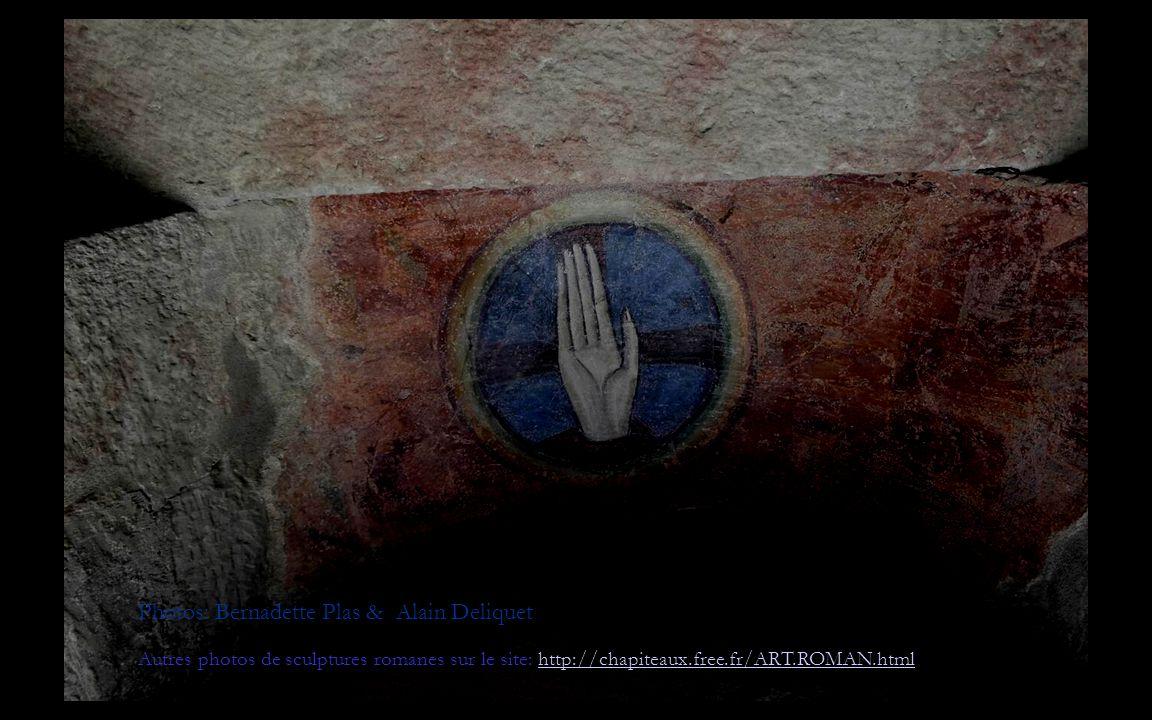 Photos: Bernadette Plas & Alain Deliquet Autres photos de sculptures romanes sur le site: http://chapiteaux.free.fr/ART.ROMAN.htmlhttp://chapiteaux.free.fr/ART.ROMAN.html