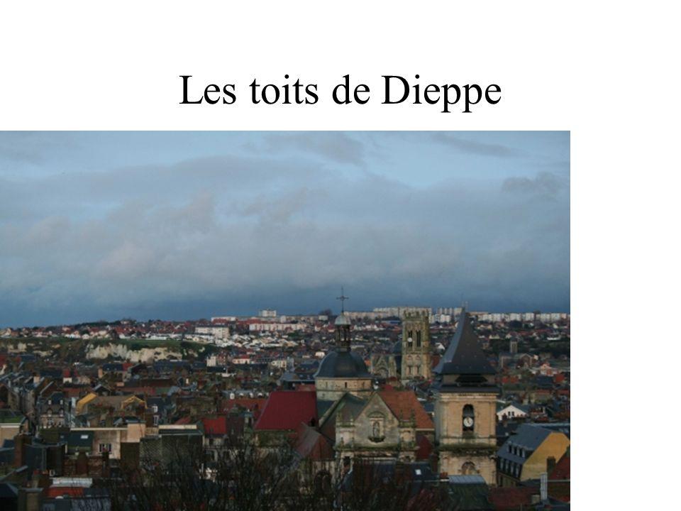 Dieppe : vue du chateau