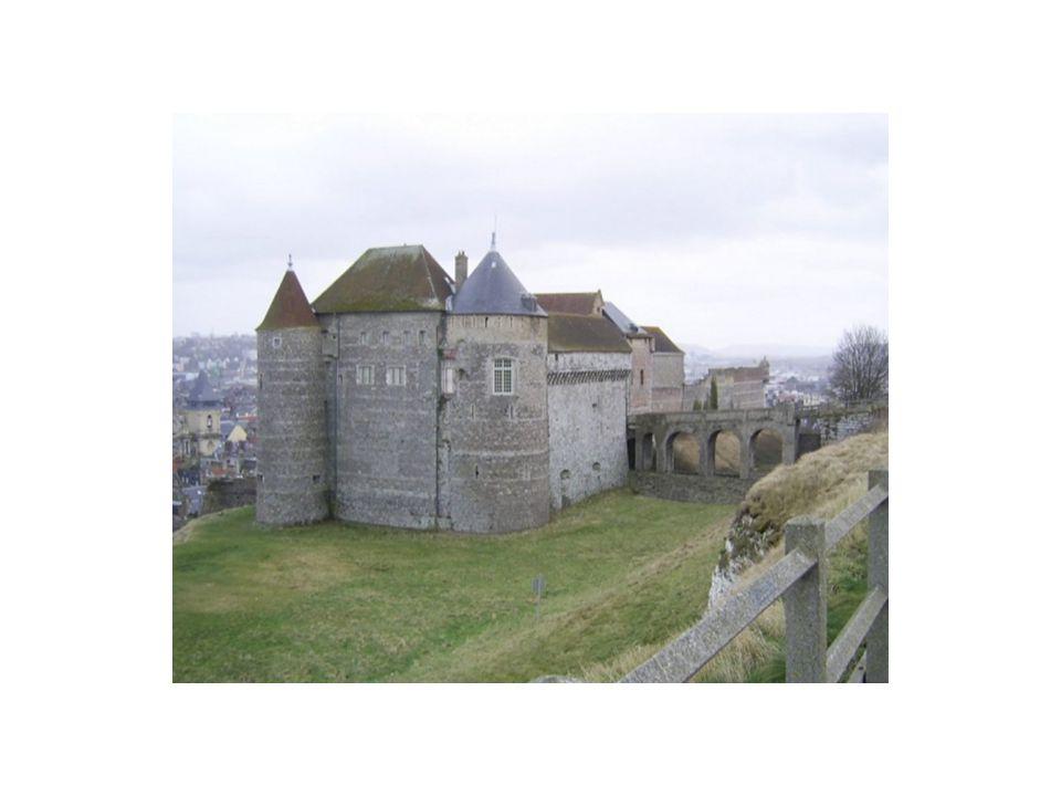 le château de Dieppe et le Casino