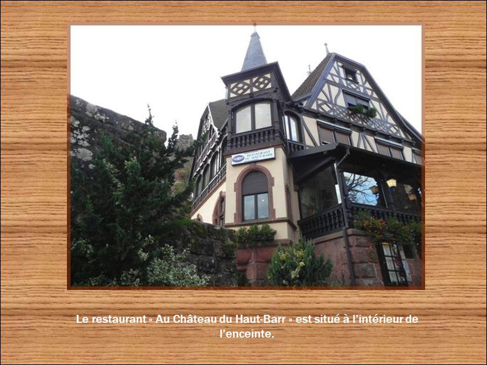 Belle vue sur la plaine d'Alsace et la ville de Saverne.
