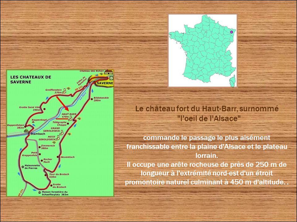 Le château du Haut-Barr « l'œil de l'Alsace »